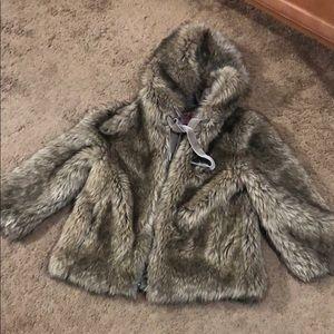 Juicy couture fur coat